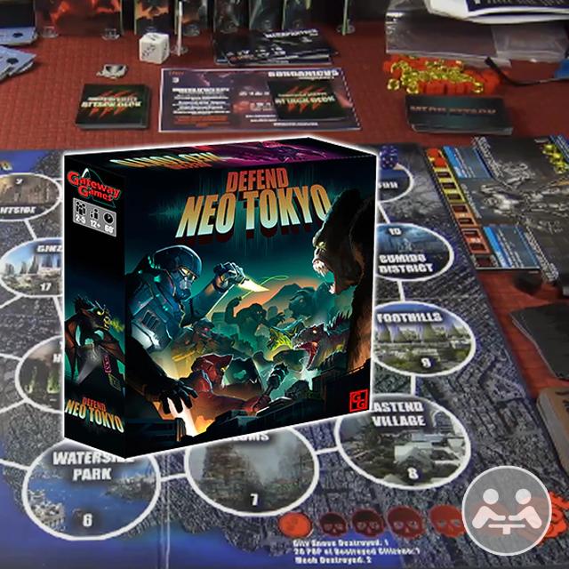 Defend Neo Tokyo Playthrough