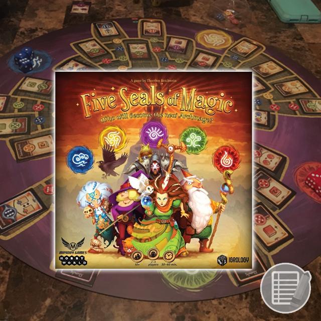 Five Seals of Magic Review