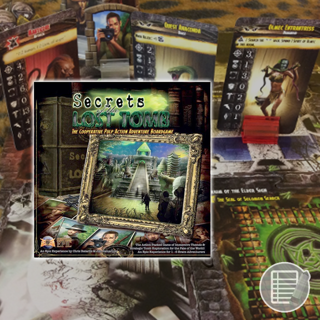 Secrets of the Lost Tomb: Core Set - 2nd Edition Review